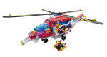 Lite Brix RESCUE COPTER - Light Building System - Helicopter - NEW